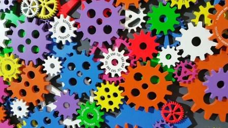 Arte, Cogs, Colorido, Creatividad, Engranajes, Máquina