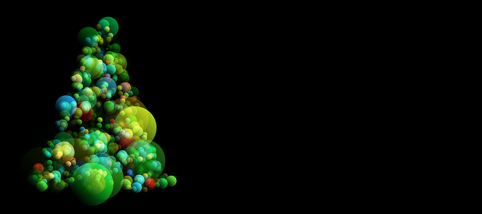 Free Illustration Christmas Abstract Background Free