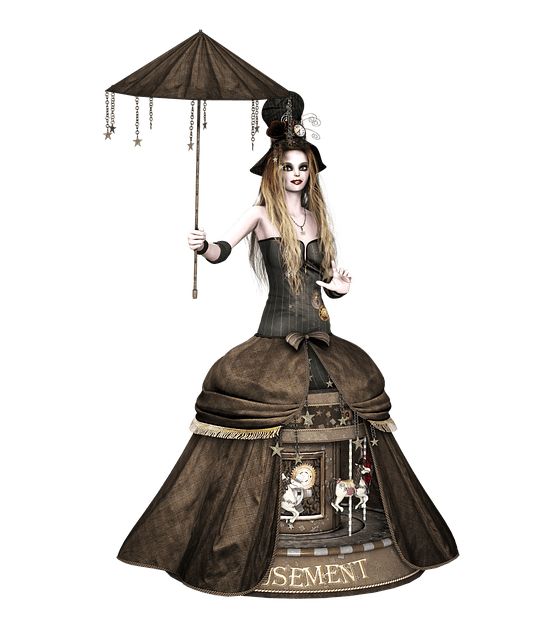Girl Dress Steampunk Free Image On Pixabay