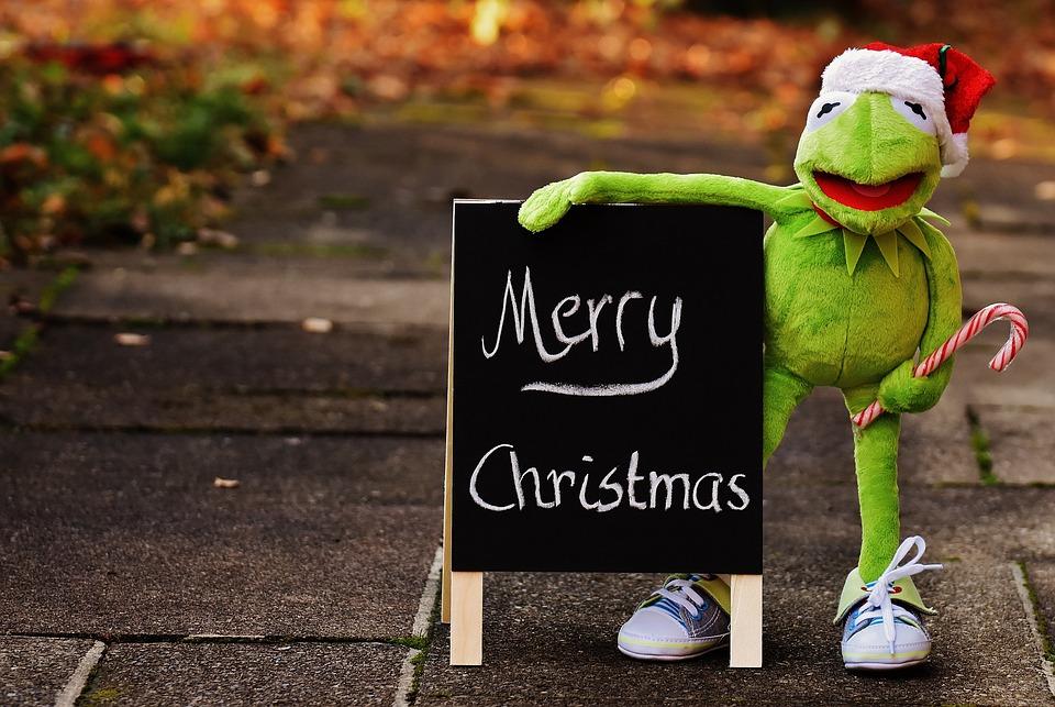 Kermit Frog Christmas Santa Free Photo On Pixabay