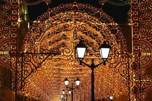 decoración navidad antes de tiempo luces