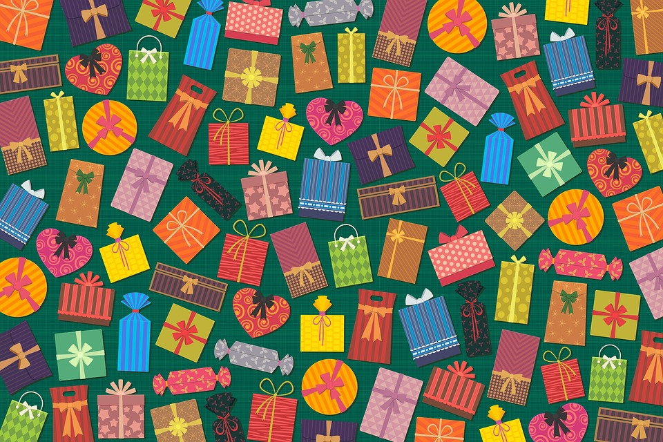Presents, Gifts, Colorful, Box, Package, Color