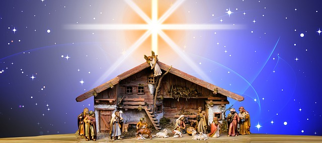 Christmas Nativity Scene Crib Free Image On Pixabay