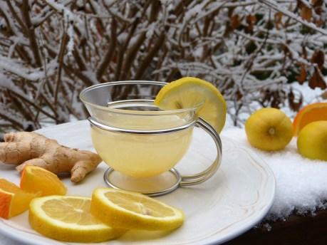 Gingembre, Citron, Orange, La Neige, Citron Chaud