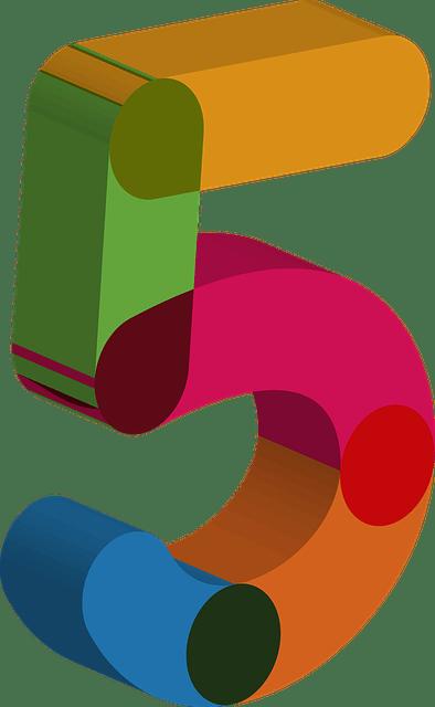 Number Five 5 Free Image On Pixabay
