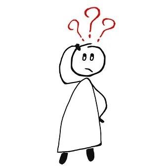 質問, 需要, 疑問, 心理学, 恐怖, 不安, 人, 棒人間, 人々