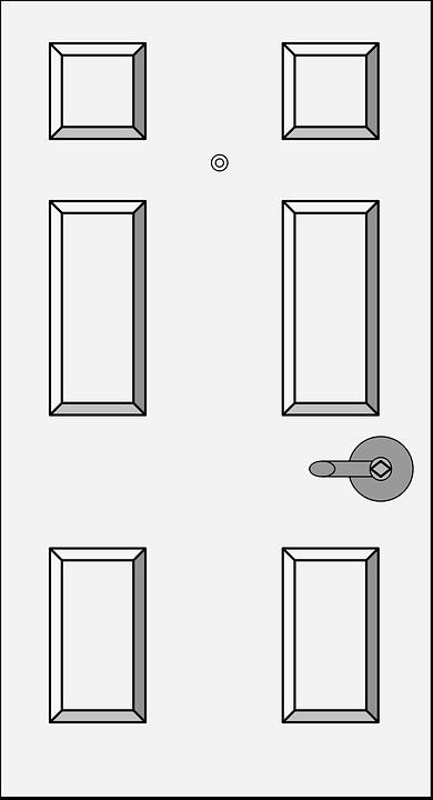 Door White House Free Vector Graphic On Pixabay