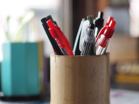 えんぴつ立て, 文房具, ボールペン