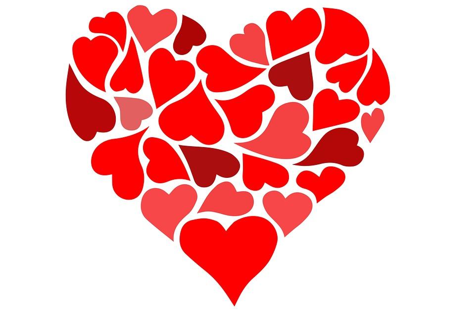 Photo Gratuite LAmour Coeur Saint Valentin Image