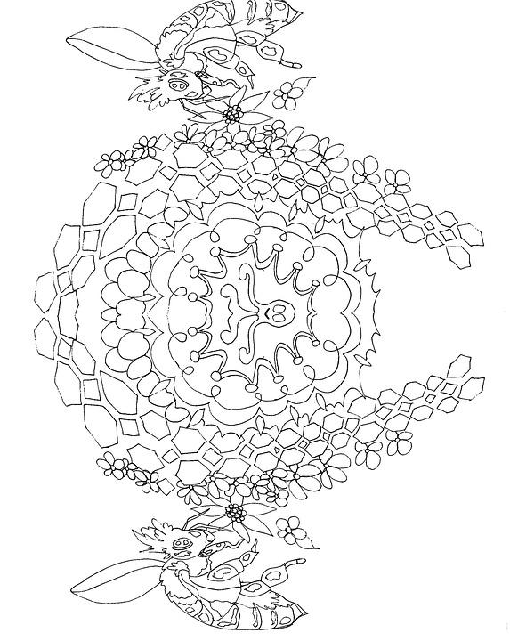 Mandala Malvorlagen Fr Erwachsene Kostenloses Bild Auf
