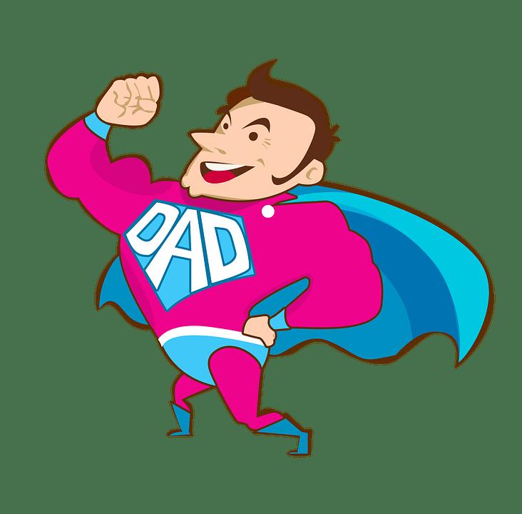 Dad, Super Dad, Vector, Figure, Png, Pictured, Humor