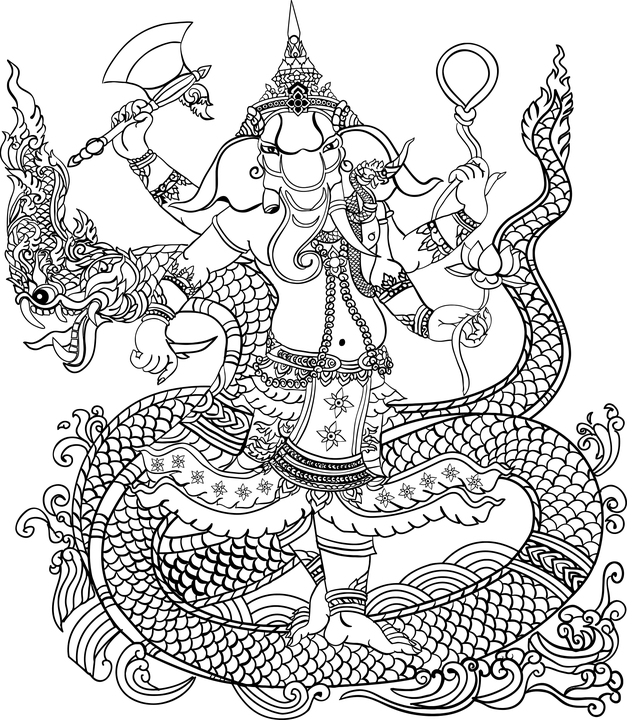 Elephant God Shiva Free Vector Graphic On Pixabay