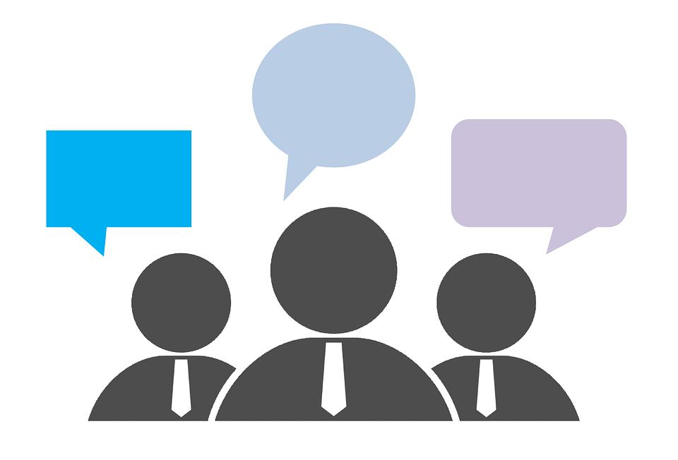 フィードバック, グループ, 通信, 意見, レビュー, 評価, チーム, コラボレーション, 会話, 話