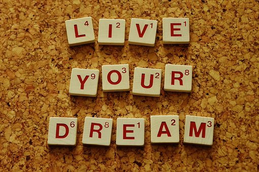 Live Your Dream, Motivation, Incentive