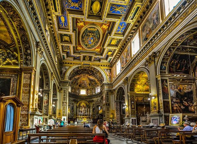 Cathedral Interior Italy Free Photo On Pixabay