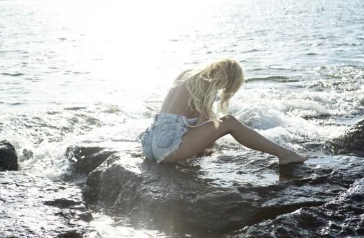 Sirena, Riflessivo, Ragazza, Donna, Giovane, Capelli