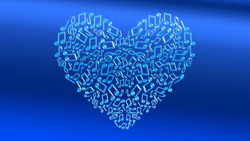 Coeur Bleu Motions Image Gratuite Sur Pixabay