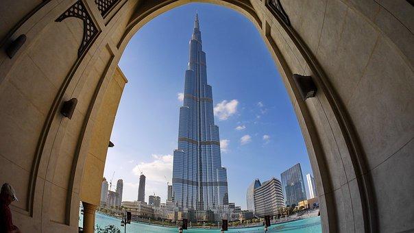 Dubai, Desert, Burj Kalifa, Emirates