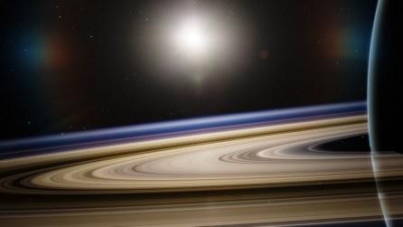 Astronomía, Saturno, Satélite, Planeta, Espacio