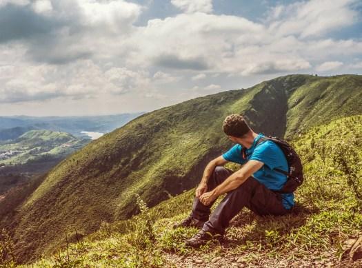 Montagna, Sentiero, Cielo, Nuvole, Orizzonte, Paesaggio