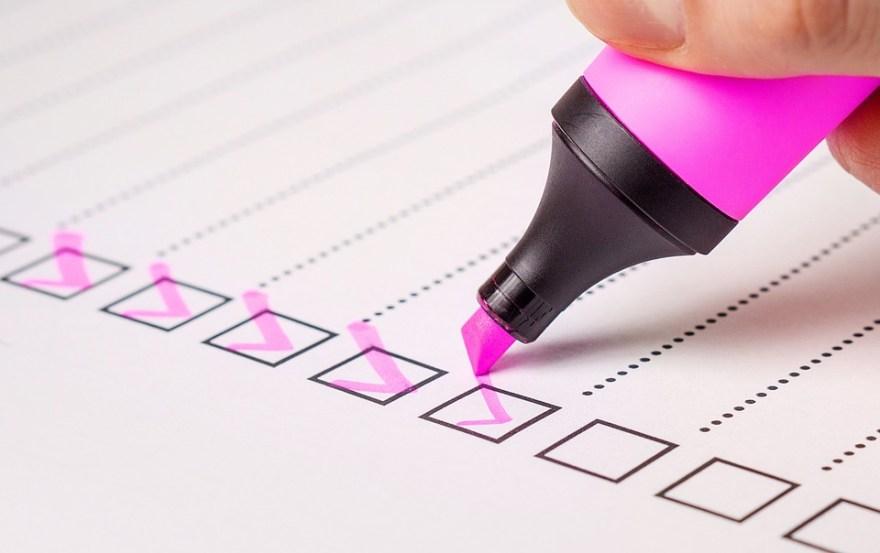 Checklist, Check, List, Marker, Checked, Pen, Mark