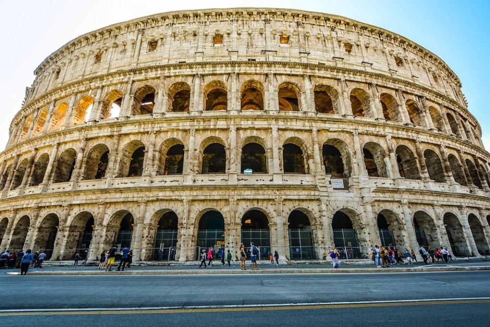 Rome, Monument, Colosseum, Italy, Italian, Landmark
