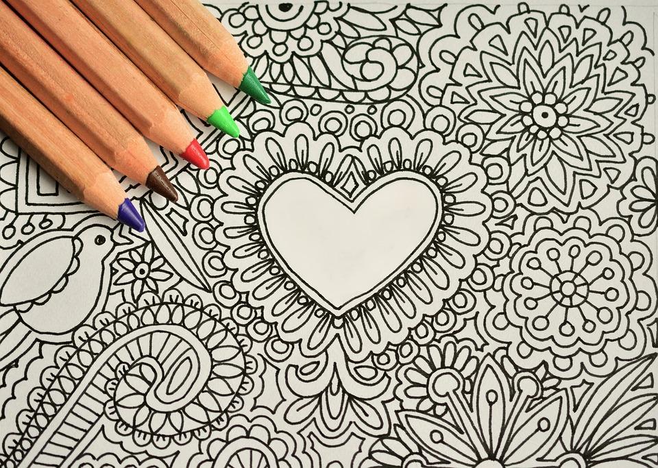 Free Photo Draw Paint Pen Draw Meditative Free Image