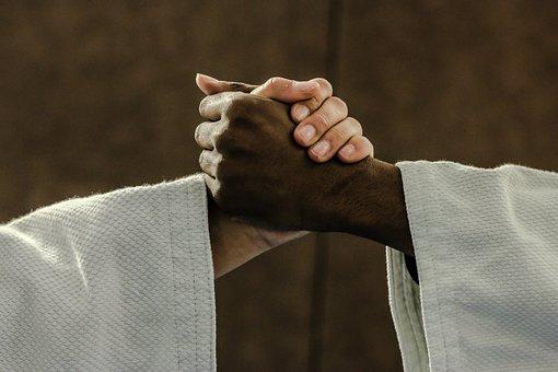 Judo, Mãos, Quimono