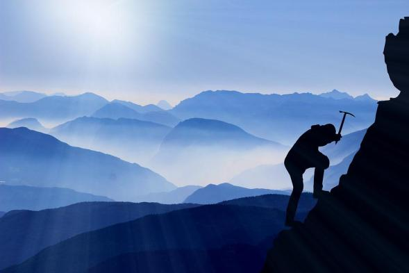 Climb, Mountaineering, Success, Mountains, Mountaineer