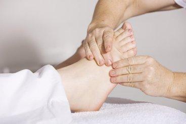 Sjukgymnastik, Fotmassage, Massage