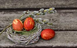 Easter Eggs, Pasen Nest, Pasen Decoratie, Pasen, Ei