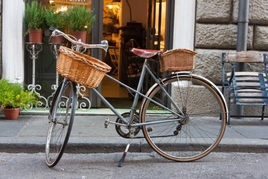 Bike, Wheel, Dutch, Retro, Bicycle Basket, Leisure