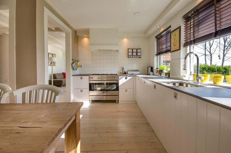 Kitchen, Home, Interior, Modern, Room, Floor, Furniture