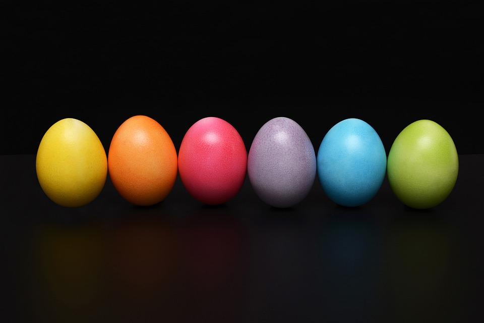 Pasqua, Uovo Di Pasqua, Uovo, Colorato, Buona Pasqua