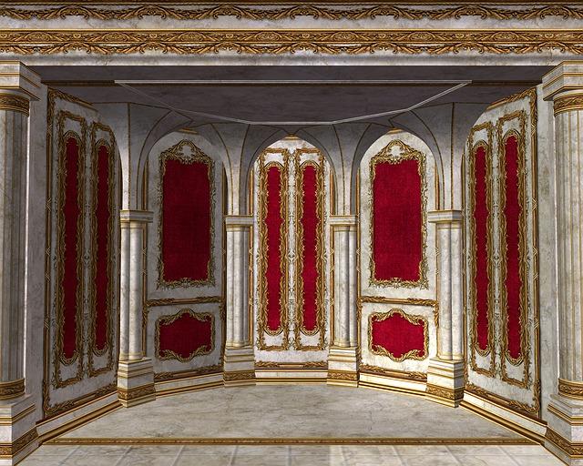Royal Room Ornate Throne Free Image On Pixabay
