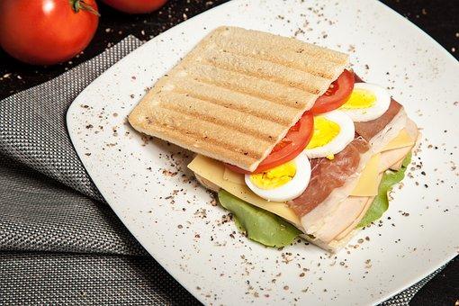 Bacon, Bread, Breakfast, Delicious