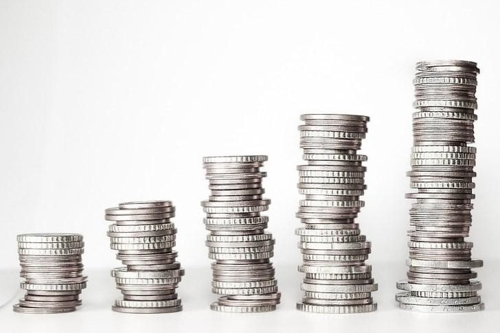 お金, 金タワー, コイン, ユーロ, € コイン, 正貨, ルース ・ チェンジ, セント, 通貨, 現金