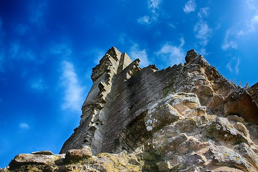 Burg, Ruine, Antike, Dorset, England