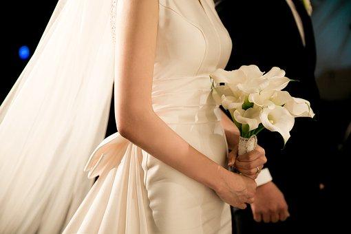 Ślub, Welon, Panna Młoda, Bukiet
