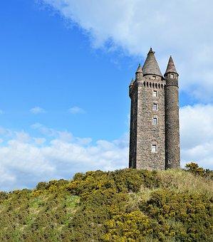 Scrabo Tower, Turm, Newtownards, Scrabo