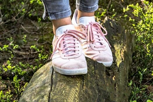 Scarpe, Mädchenschuhe, Sneaker, Velluto