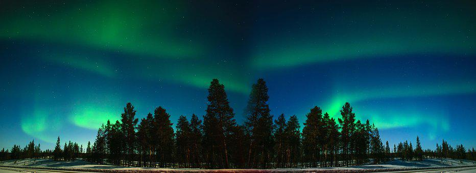 Lake Inari Northern Lights