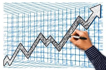 Empresario, Éxito, Mano, Escribir, Actualidad, Flecha