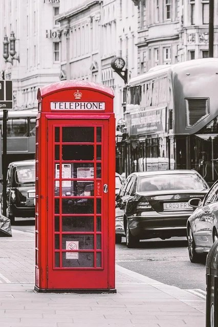 Londres Cabine Tlphonique Rouge Photo Gratuite Sur Pixabay