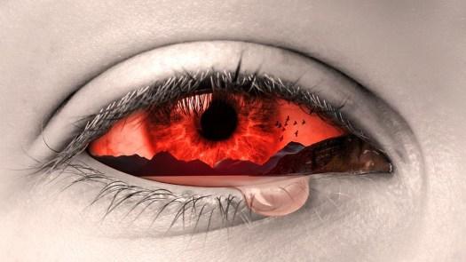 Occhio, Manipolazione, Lacrime, Arte, Triste, Pianto