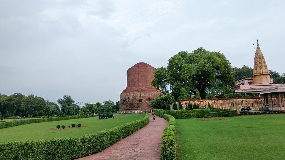 Sarnath, Varanasi, India, Buddha, Buddhism, Religion