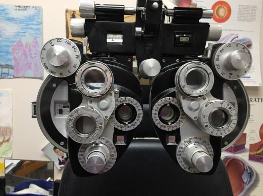 Phoropter, Rifrazione, Prescrizione Degli Occhiali