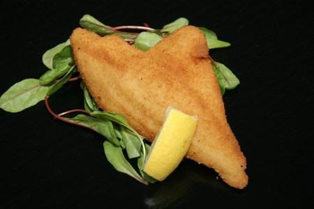 Poisson, Filet De Poisson, Pané, Citron, Salade