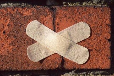 Patch, Stone, Facade, Repair, Setting