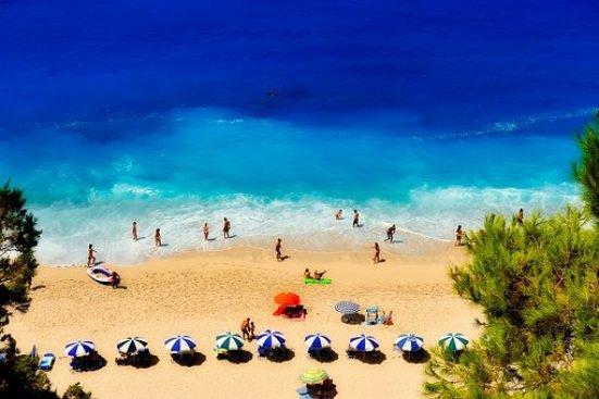 Ελλάδα, Παραλία, Κολυμβητές, Διακοπές